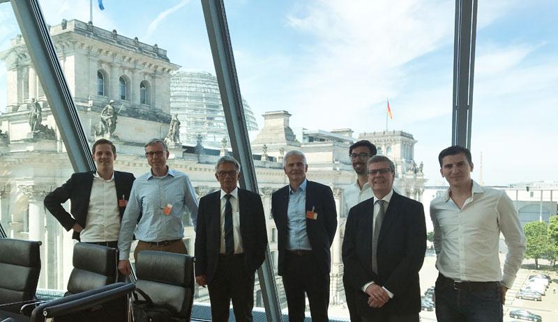 Roundtable mit Prof. Josef Hecken zur Digitalisierung