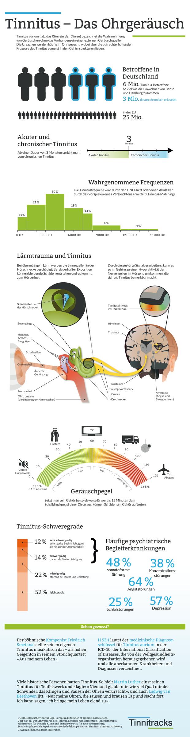 Tinnitus das Ohrgeräusch